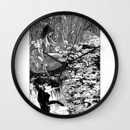 asc 534 - La Dame du lac (Viviane) Wall Clock
