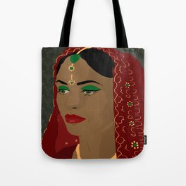 Indian Bride in red  Tote Bag