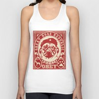 obey Tank Tops featuring OBEY by frail