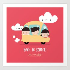 Back to school! Art Print
