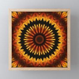 Sun from Africa Framed Mini Art Print
