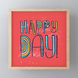 Happy Day! Framed Mini Art Print