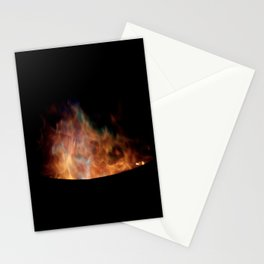 Blue Flames //// Stationery Cards