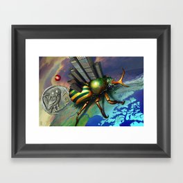 Backward Habitation Framed Art Print