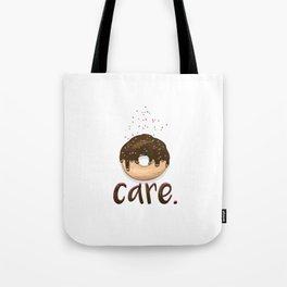 Donut Care Tote Bag