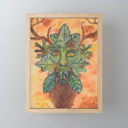 The Guardian of the Forest Framed Mini Art Print