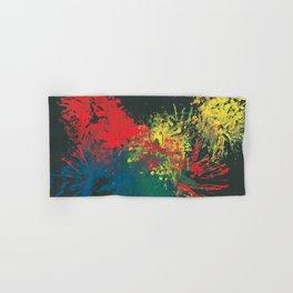 Impulsive Color Splash Toddler Art Hand & Bath Towel