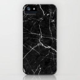 black marble iPhone Case