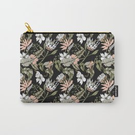 Dark pattern botanical boho Carry-All Pouch
