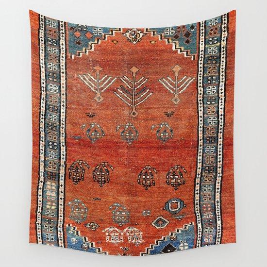 Bakhshaish Azerbaijan Northwest Persian Carpet Print by vickybragomitchell