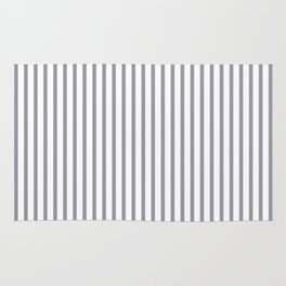 Lilac Gray Stripes Rug