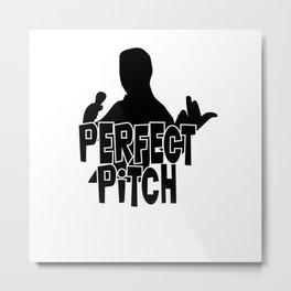 Perfect Pitch Metal Print