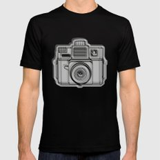 I Still Shoot Film Holga Logo - Black Mens Fitted Tee Black SMALL
