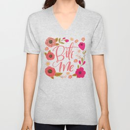 Pretty Not So Swe*ry: Bite Me Unisex V-Neck