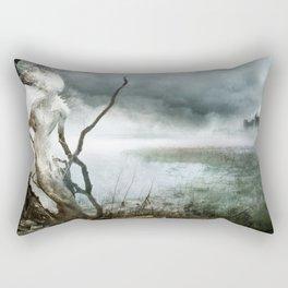 Dame Blanche pour Château Noir Rectangular Pillow