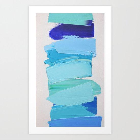 Ocean Blues No. 2 Art Print