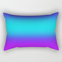 Re-Created Color Field No. 9 by Robert S. Lee Rectangular Pillow