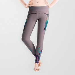 HUMMING BIRD SPLASH Leggings