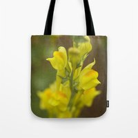 montana Tote Bags featuring Montana  Wildflower by Lori Anne Photography