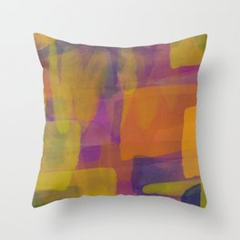Abstract Painting #1 Throw Pillow