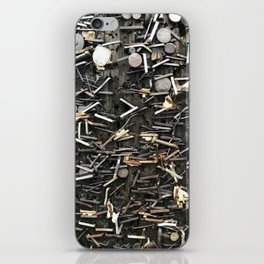 Staples and Nails it! iPhone Skin