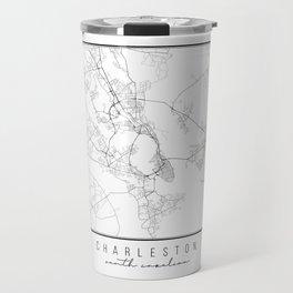 Charleston South Carolina Street Map Travel Mug