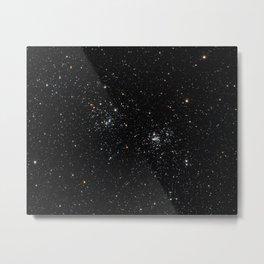 Perseus Double Cluster Metal Print