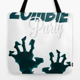 Zombie Party Tote Bag
