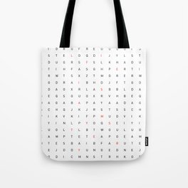 (Life is a Mystery) Tote Bag