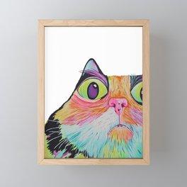 cat nip trip Framed Mini Art Print