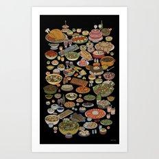 Beast Feast (Dinner) Art Print