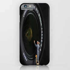 Keeping the Lenses Clean Slim Case iPhone 6s