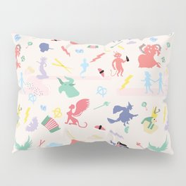 Mythological pattern Pillow Sham