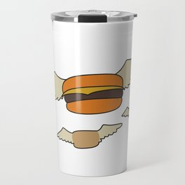 Bob's Burgers Flying Hamburgers T-shirt Travel Mug