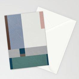 Minimal Geometric Shape Mid Century Design Stationery Cards