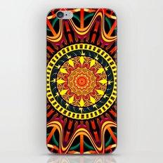 Mandala orange iPhone & iPod Skin