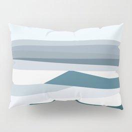 Geometric Bondi beach, Sydney Pillow Sham