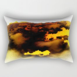 Trouble Brewing Rectangular Pillow