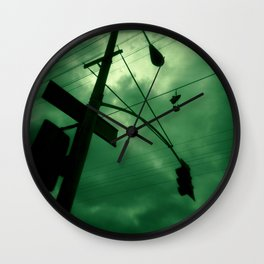 Shoes and Wires Wall Clock