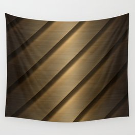 Copper Brass Metal Pipe Wall Tapestry