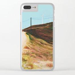 serra da boneca Clear iPhone Case