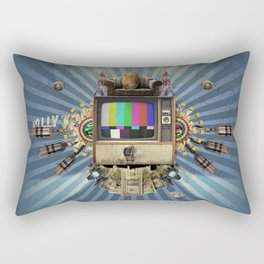 The  Television Will Not Be Revolutionised! Rectangular Pillow