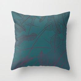 Nature - Gradient Throw Pillow