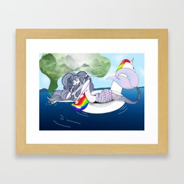 Darling Nikki Framed Art Print