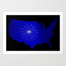 United States Celebration Art Print
