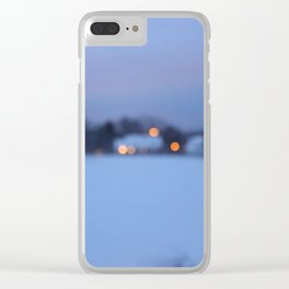 Lights Guide Me Home Clear iPhone Case
