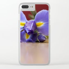 Blooms Clear iPhone Case