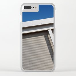 modern architecture - curve and sky Clear iPhone Case