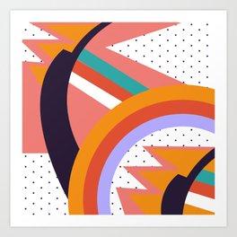 90s Baby Pattern | 1990s Art Print