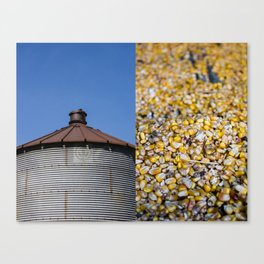 In and Outs of the Farm Canvas Print